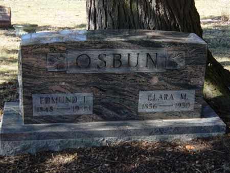 OSBUN, EDMUND I. - Richland County, Ohio | EDMUND I. OSBUN - Ohio Gravestone Photos