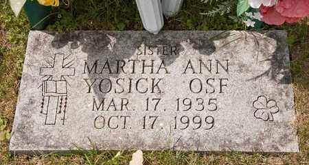 OSF, MARTHA ANN - Richland County, Ohio | MARTHA ANN OSF - Ohio Gravestone Photos
