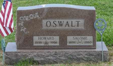OSWALT, HOWARD - Richland County, Ohio | HOWARD OSWALT - Ohio Gravestone Photos