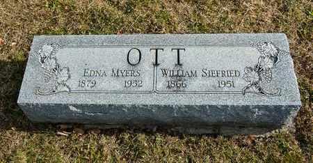 OTT, EDNA - Richland County, Ohio | EDNA OTT - Ohio Gravestone Photos