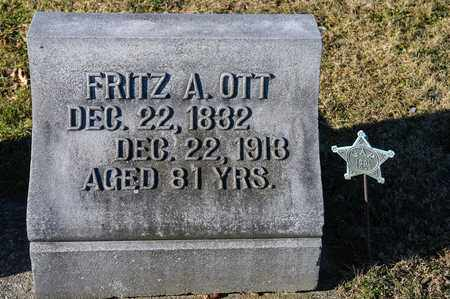 OTT, FRITZ A - Richland County, Ohio | FRITZ A OTT - Ohio Gravestone Photos