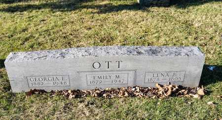 OTT, LENA B - Richland County, Ohio | LENA B OTT - Ohio Gravestone Photos