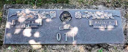 OTT, MARTHA M - Richland County, Ohio | MARTHA M OTT - Ohio Gravestone Photos