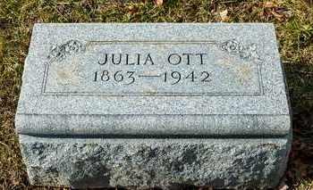 OTT, JULIA - Richland County, Ohio | JULIA OTT - Ohio Gravestone Photos