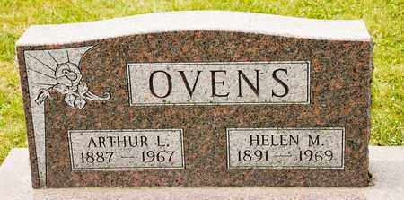 OVENS, ARTHUR L - Richland County, Ohio | ARTHUR L OVENS - Ohio Gravestone Photos