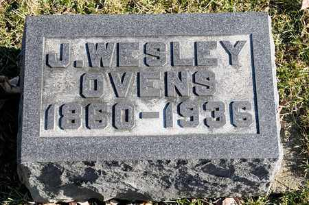 OVENS, J WESLEY - Richland County, Ohio | J WESLEY OVENS - Ohio Gravestone Photos
