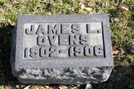OVENS, JAMES L - Richland County, Ohio | JAMES L OVENS - Ohio Gravestone Photos