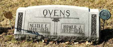 OVENS, NESTLE E - Richland County, Ohio | NESTLE E OVENS - Ohio Gravestone Photos