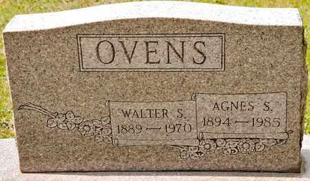 OVENS, AGNES S - Richland County, Ohio | AGNES S OVENS - Ohio Gravestone Photos