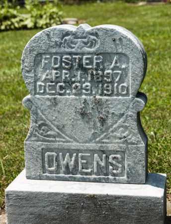 OWENS, FOSTER A - Richland County, Ohio | FOSTER A OWENS - Ohio Gravestone Photos