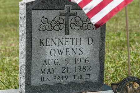 OWENS, KENNETH D - Richland County, Ohio | KENNETH D OWENS - Ohio Gravestone Photos