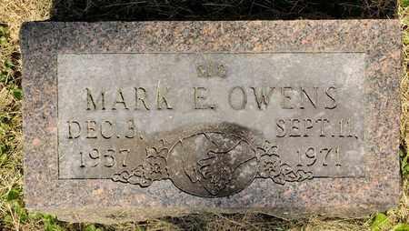 OWENS, MARK E - Richland County, Ohio | MARK E OWENS - Ohio Gravestone Photos