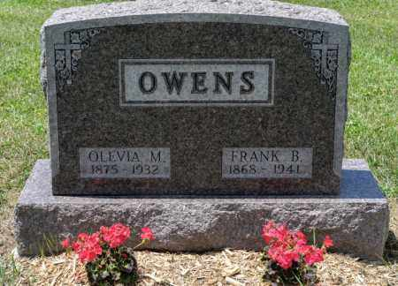 OWENS, OLEVIA M - Richland County, Ohio | OLEVIA M OWENS - Ohio Gravestone Photos