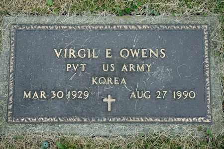 OWENS, VIRGIL E - Richland County, Ohio | VIRGIL E OWENS - Ohio Gravestone Photos
