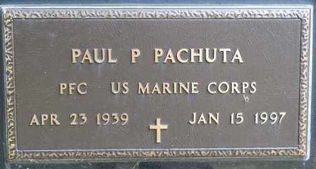PACHUTA, PAUL P - Richland County, Ohio | PAUL P PACHUTA - Ohio Gravestone Photos