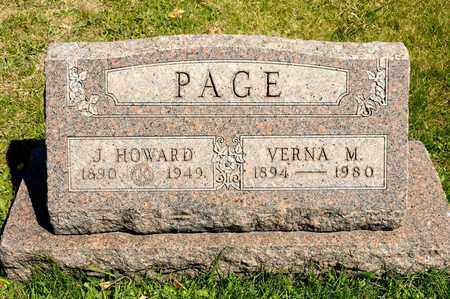 PAGE, VERNA M - Richland County, Ohio | VERNA M PAGE - Ohio Gravestone Photos