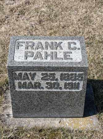 PAHLE, FRANK C - Richland County, Ohio | FRANK C PAHLE - Ohio Gravestone Photos