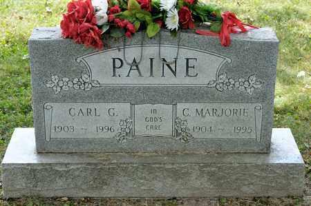 PAINE, C MARJORIE - Richland County, Ohio | C MARJORIE PAINE - Ohio Gravestone Photos