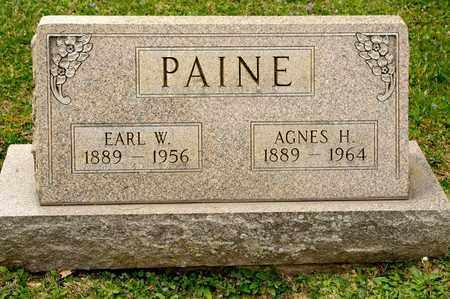 PAINE, AGNES H - Richland County, Ohio | AGNES H PAINE - Ohio Gravestone Photos
