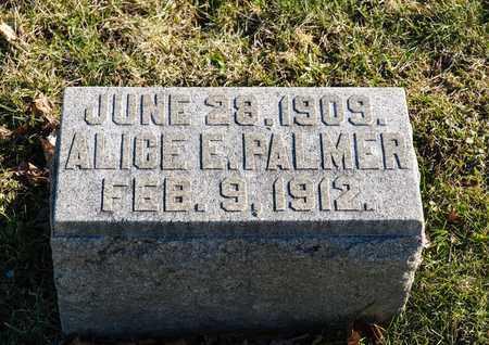 PALMER, ALICE E - Richland County, Ohio   ALICE E PALMER - Ohio Gravestone Photos