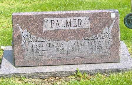 CHARLES PALMER, JESSIE MAY - Richland County, Ohio | JESSIE MAY CHARLES PALMER - Ohio Gravestone Photos