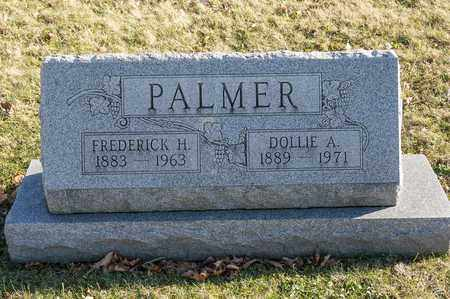 PALMER, FREDERICK H - Richland County, Ohio | FREDERICK H PALMER - Ohio Gravestone Photos