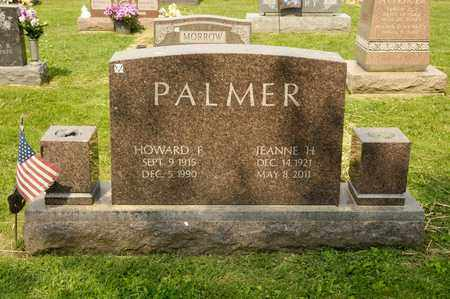 PALMER, HOWARD F - Richland County, Ohio | HOWARD F PALMER - Ohio Gravestone Photos