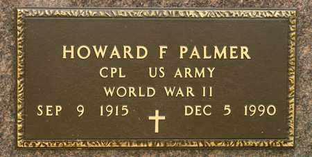 PALMER, HOWARD F - Richland County, Ohio | HOWARD F PALMER - Ohio Gravestone Photos