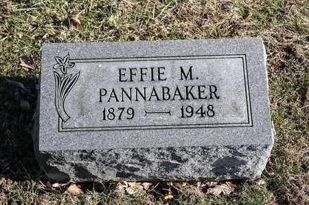 PANNABAKER, EFFIE M - Richland County, Ohio   EFFIE M PANNABAKER - Ohio Gravestone Photos
