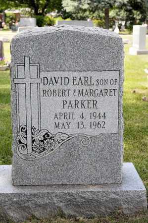PARKER, DAVID EARL - Richland County, Ohio | DAVID EARL PARKER - Ohio Gravestone Photos