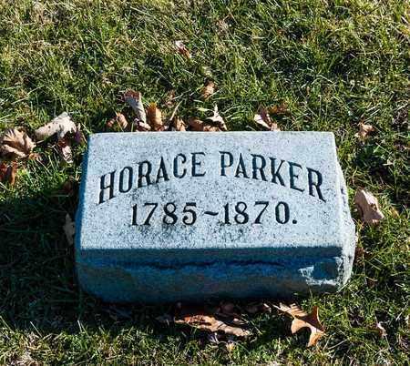 PARKER, HORACE - Richland County, Ohio | HORACE PARKER - Ohio Gravestone Photos