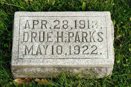PARKS, DRUE H - Richland County, Ohio | DRUE H PARKS - Ohio Gravestone Photos