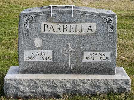 PARRELLA, MARY - Richland County, Ohio | MARY PARRELLA - Ohio Gravestone Photos