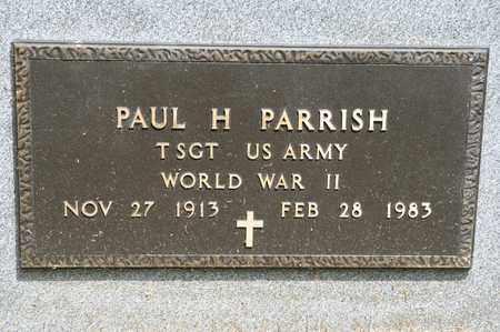 PARRISH, PAUL H - Richland County, Ohio | PAUL H PARRISH - Ohio Gravestone Photos