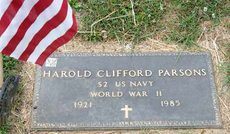 PARSONS, HAROLD CLIFFORD - Richland County, Ohio | HAROLD CLIFFORD PARSONS - Ohio Gravestone Photos