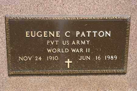 PATTON, EUGENE C - Richland County, Ohio | EUGENE C PATTON - Ohio Gravestone Photos