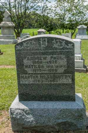 MCCAUGHTRY, MARTHA - Richland County, Ohio | MARTHA MCCAUGHTRY - Ohio Gravestone Photos