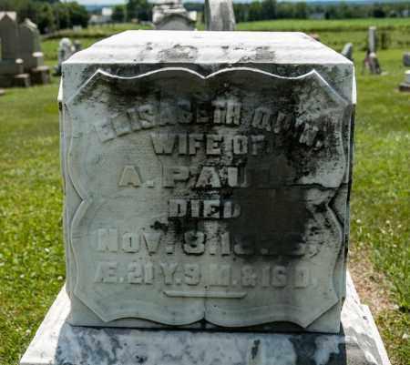 PAUL, ELISABETH - Richland County, Ohio   ELISABETH PAUL - Ohio Gravestone Photos