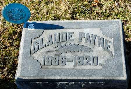 PAYNE, CLAUDE - Richland County, Ohio | CLAUDE PAYNE - Ohio Gravestone Photos