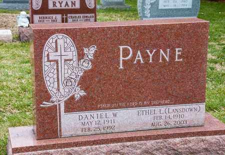 PAYNE, DANIEL W - Richland County, Ohio   DANIEL W PAYNE - Ohio Gravestone Photos