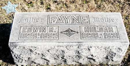 PAYNE, EDWIN R - Richland County, Ohio   EDWIN R PAYNE - Ohio Gravestone Photos