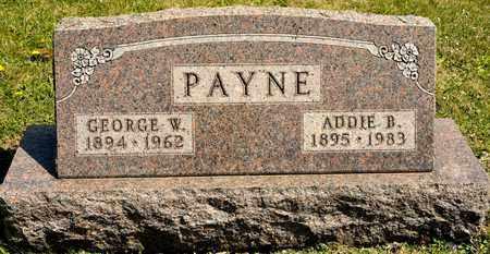 PAYNE, GEORGE W - Richland County, Ohio | GEORGE W PAYNE - Ohio Gravestone Photos