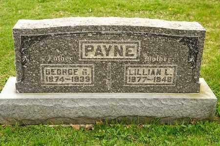 PAYNE, GEORGE G - Richland County, Ohio | GEORGE G PAYNE - Ohio Gravestone Photos