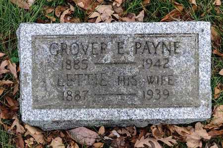 PAYNE, LETTIE - Richland County, Ohio | LETTIE PAYNE - Ohio Gravestone Photos