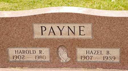 PAYNE, HAROLD R - Richland County, Ohio   HAROLD R PAYNE - Ohio Gravestone Photos