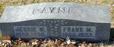 PAYNE, FRANK M - Richland County, Ohio | FRANK M PAYNE - Ohio Gravestone Photos