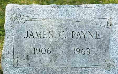 PAYNE, JAMES C - Richland County, Ohio | JAMES C PAYNE - Ohio Gravestone Photos