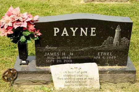PAYNE JR, JAMES H - Richland County, Ohio | JAMES H PAYNE JR - Ohio Gravestone Photos