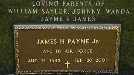 PAYNE JR, JAMES H - Richland County, Ohio | JAMES H PAYNE JR - Ohio Gravestone Photos