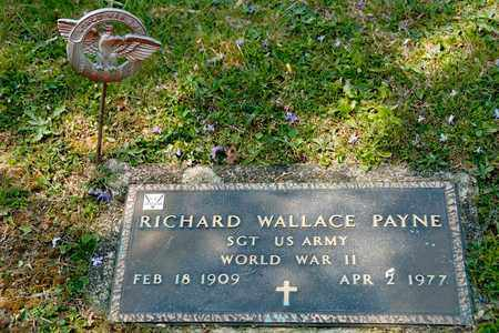 PAYNE, RICHARD WALLACE - Richland County, Ohio   RICHARD WALLACE PAYNE - Ohio Gravestone Photos